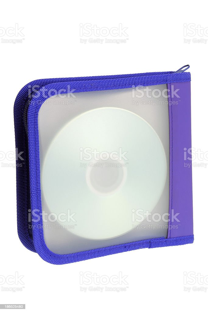 DVD Pouch royalty-free stock photo