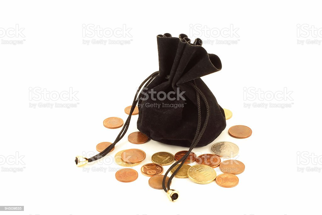 pouch stock photo