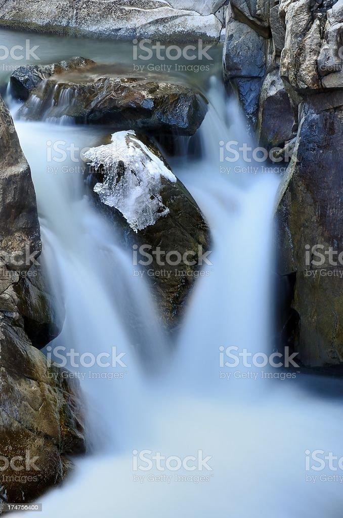 Poudre Falls royalty-free stock photo