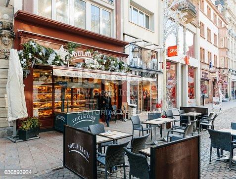 istock Poulaillon Artisan Boulanger bakery in France 636893924