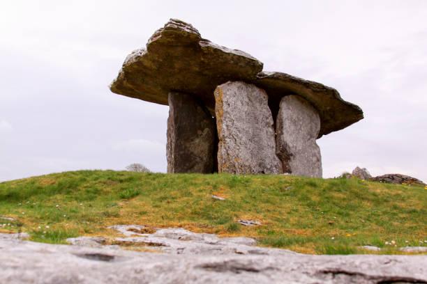 Poulnabrone dolmen in Clare county, Ireland stock photo