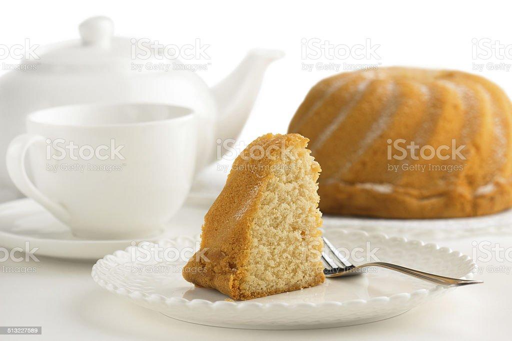 pound cake foto