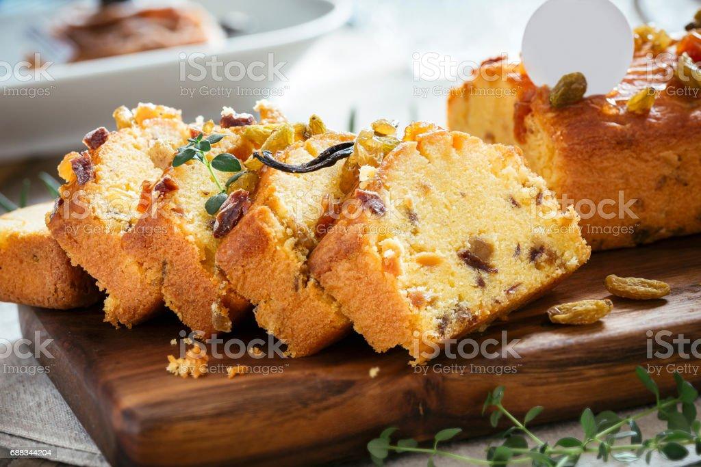 Pound Cake - foto de acervo