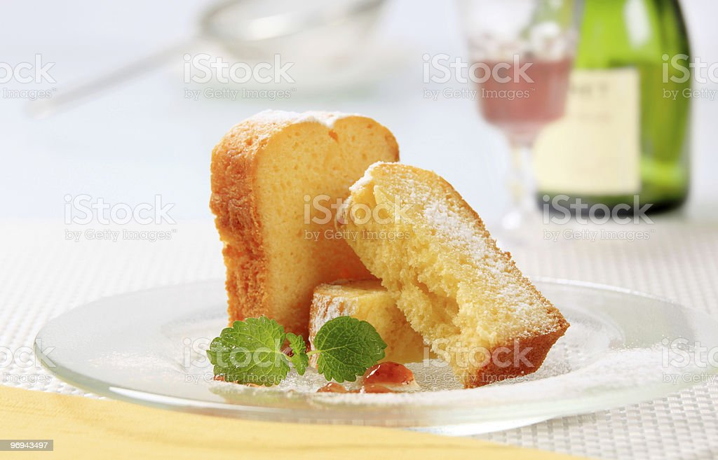 Pound cake royalty-free stock photo