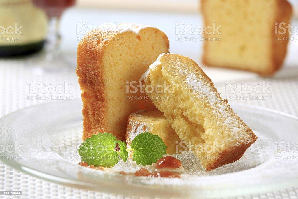 Pound cake foto stock royalty-free