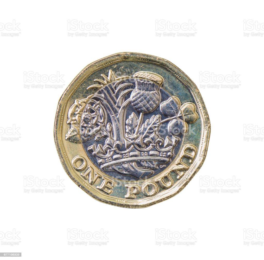 Großbritannien 1 Pfund Münze Stock Fotografie Und Mehr Bilder Von