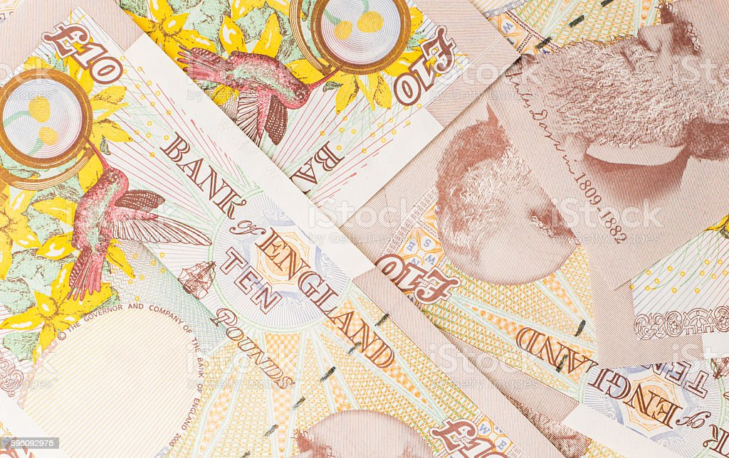 Pound currency background royalty-free stock photo