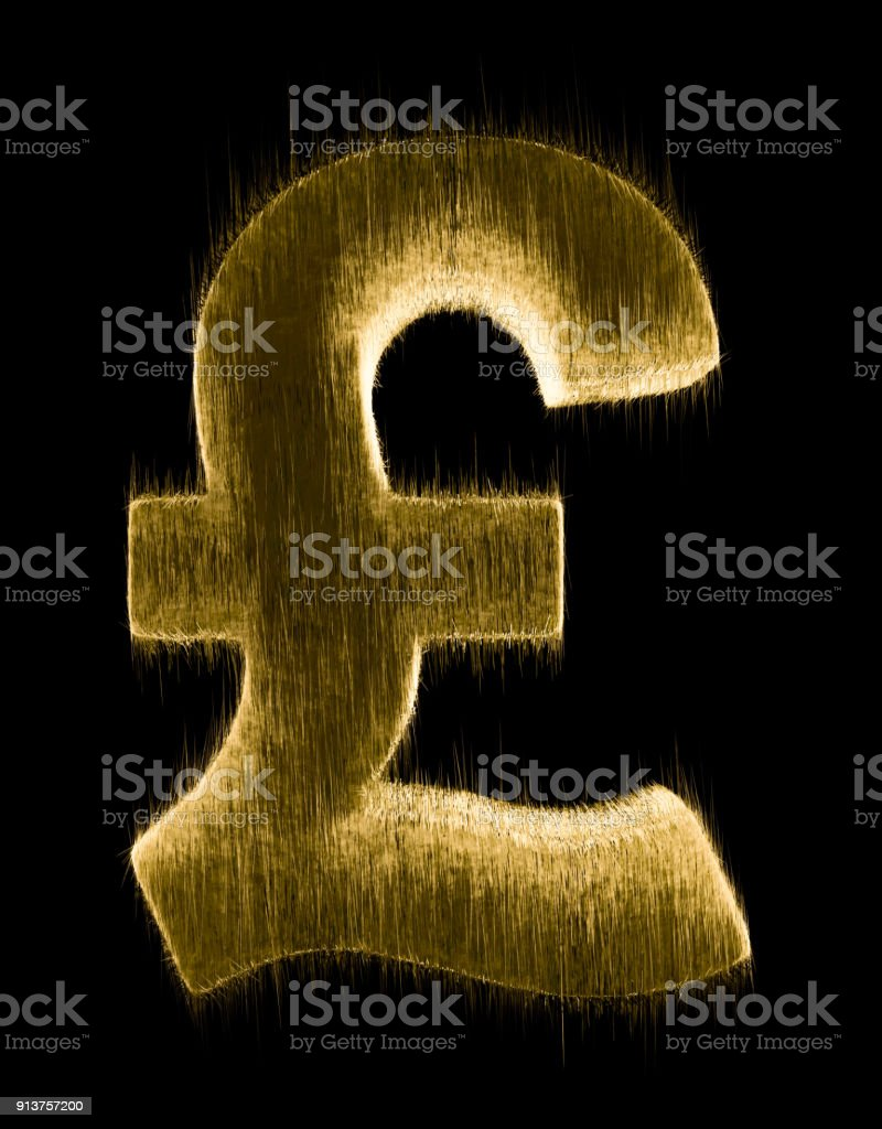Pound Currency Symbol Stock Photo More Pictures Of Abstract Istock