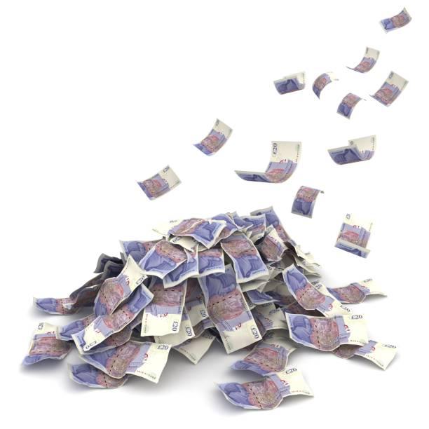 Britisches Pfund fällt Ins E-Krise – Foto