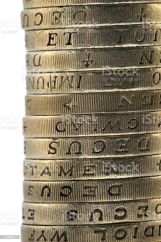 pound pile royalty-free stock photo