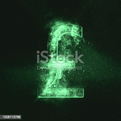 1135149903 istock photo Pound sterling sign, Pound sterling Symbol. Monetary currency symbol. Green symbol 1008113766