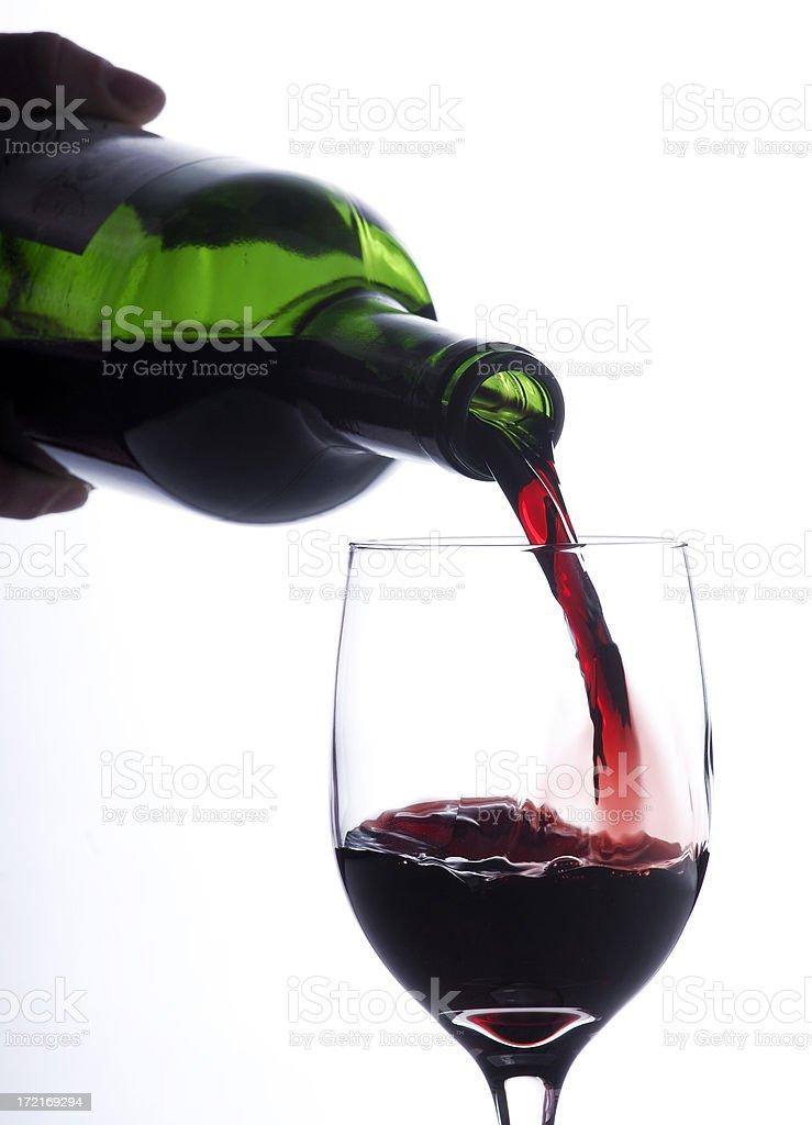 Pour me a glass royalty-free stock photo