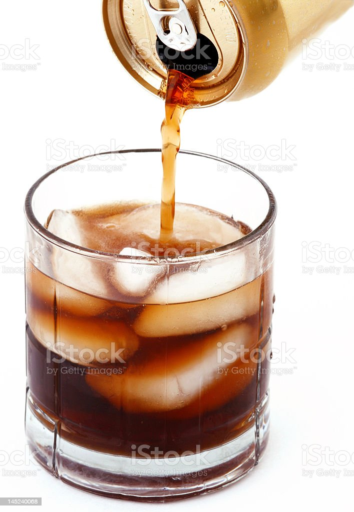 Poured Out royalty-free stock photo