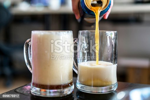 istock pouring beer into mug 699676912