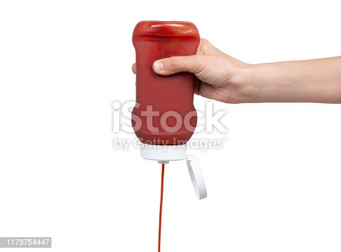 Pouring Ketchup