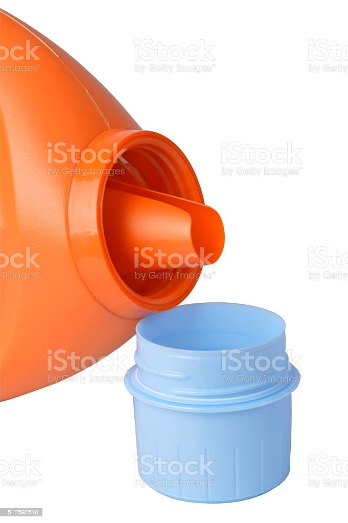 Pouring Laundry Detergent Royalty Free Stock Photo