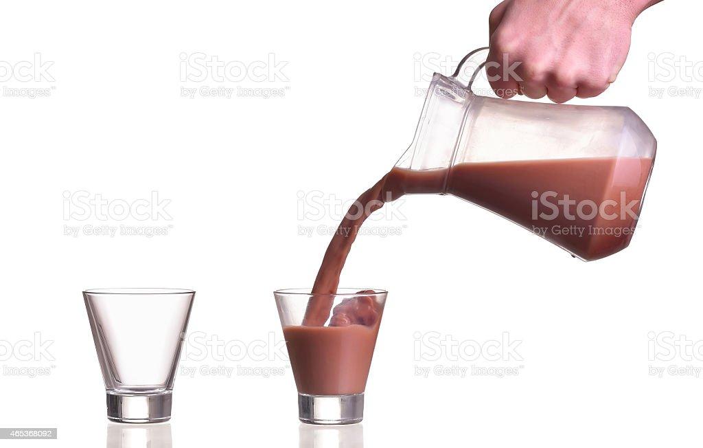 pouring-milk-chocolate-cacao-into-a-glas