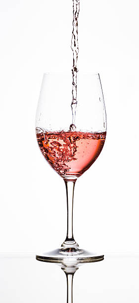 Royalty Free Rose Wine Glass Pictures, Images and Stock ...