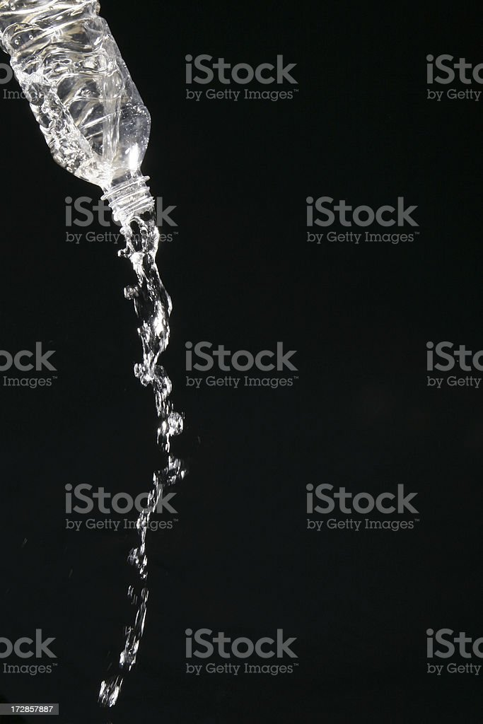 Pouring Water royalty-free stock photo