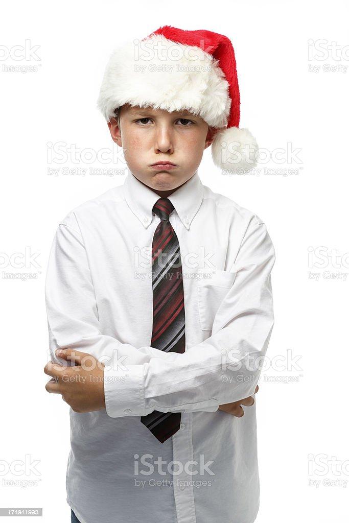 Pouting Boy royalty-free stock photo