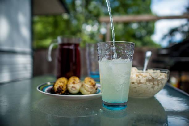 Pouting Lemonade stock photo