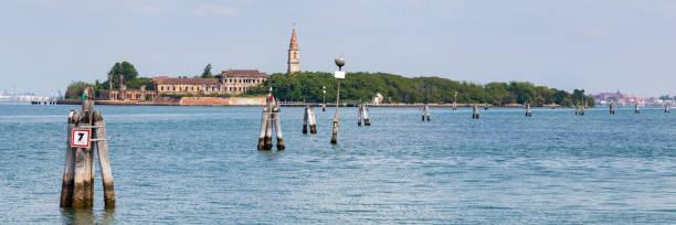 Poveglia Island in Venetië, Italië foto