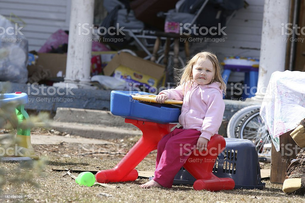 Poverty in America stock photo