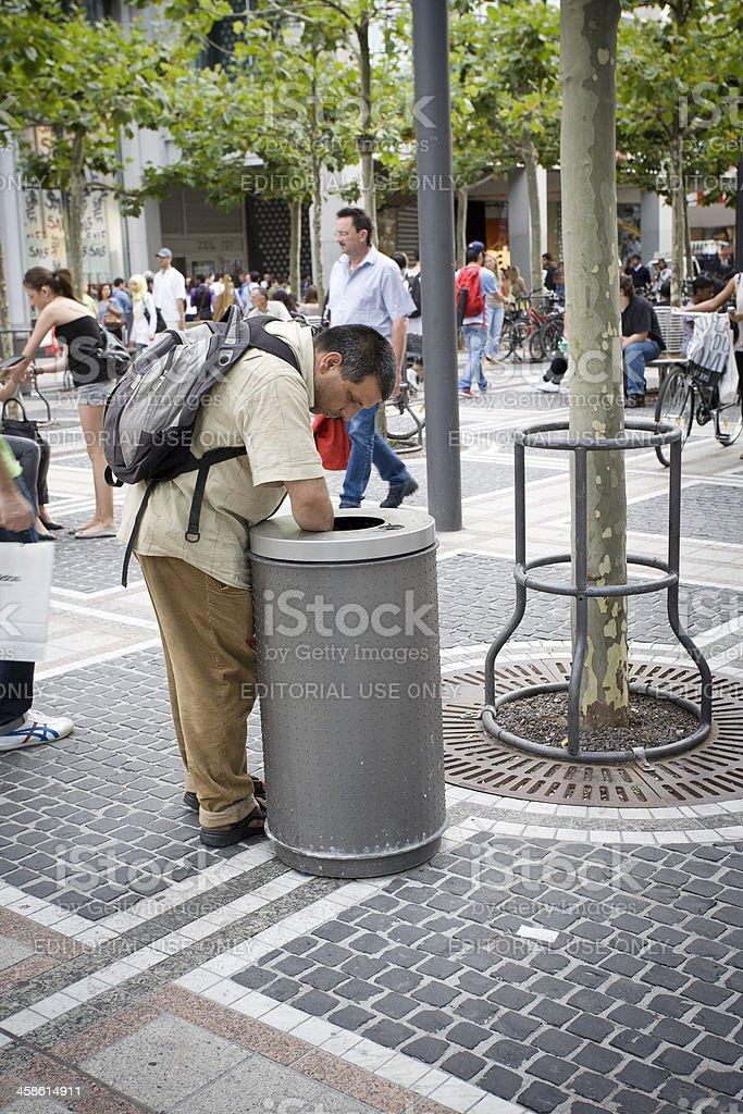 Armut in der Stadt – Foto