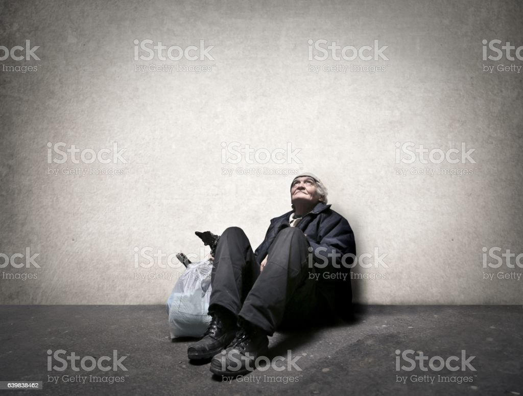 Poverty stock photo