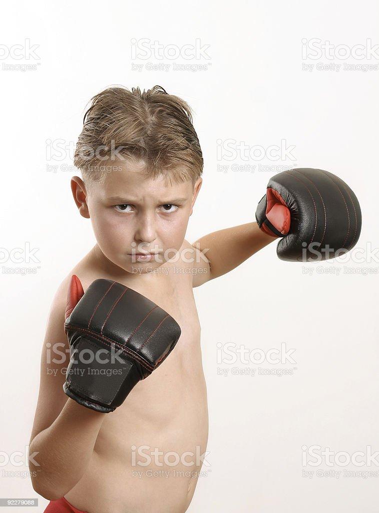 Pow !  Knockout royalty-free stock photo