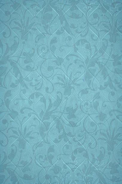 Powder Blue Victorian Background