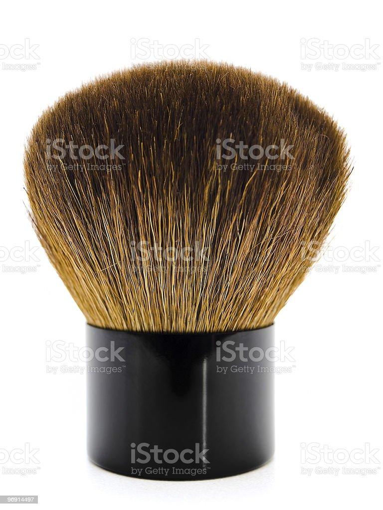 powder brush royalty-free stock photo
