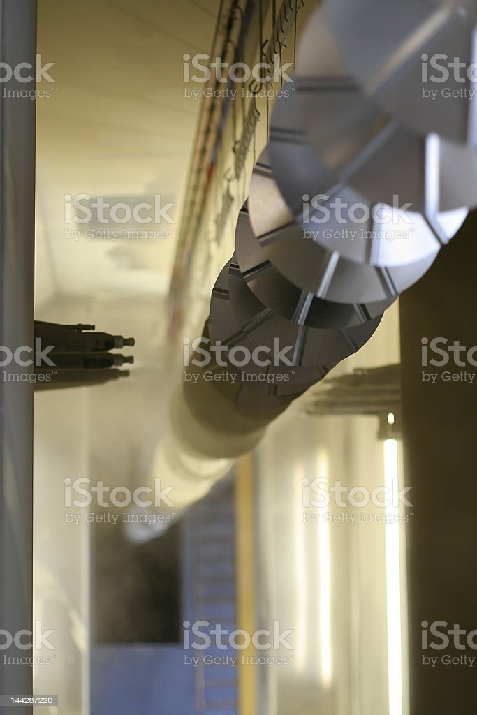 Powder coating stock photo