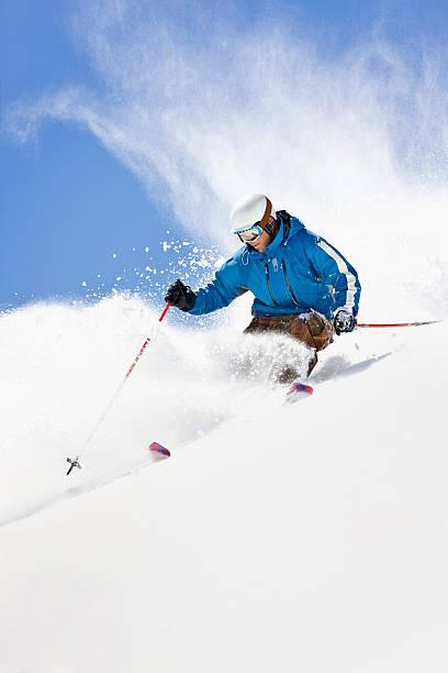 Powder skiing against colorado blue sky picture id154079488?b=1&k=6&m=154079488&s=612x612&w=0&h=u4iazs6o4t7qlhchccffm6ukeedffgcspcdre5pzfpm=