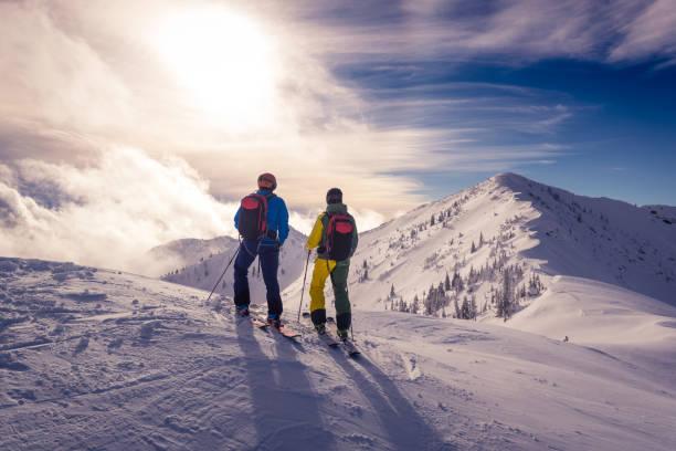 Powder-skiing – Foto
