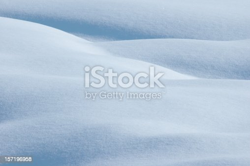 This simple snow image would make a great wallpaper.  Do the snow drifts suggest human bodies to you?