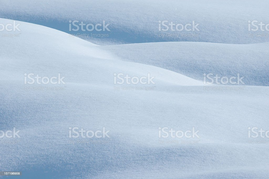 Powder snow background landscape stock photo