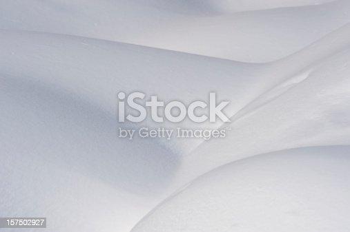 istock Powder snow background landscape 157502927