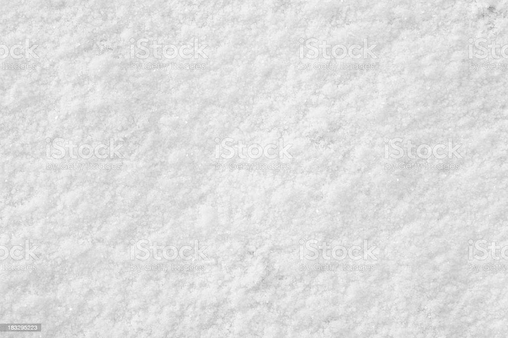 Powdery Snow background stock photo