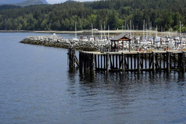 Powell River Harbour marina – Foto