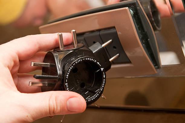 power adapter-reiseadapter - adapter stock-fotos und bilder