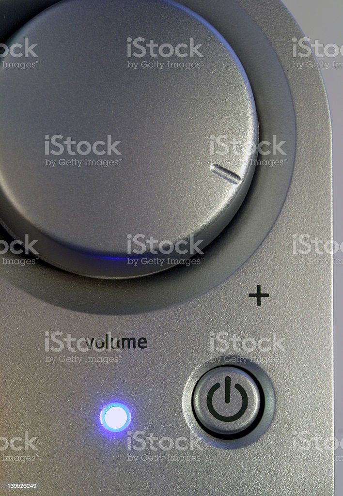 Power and Volume royalty-free stock photo