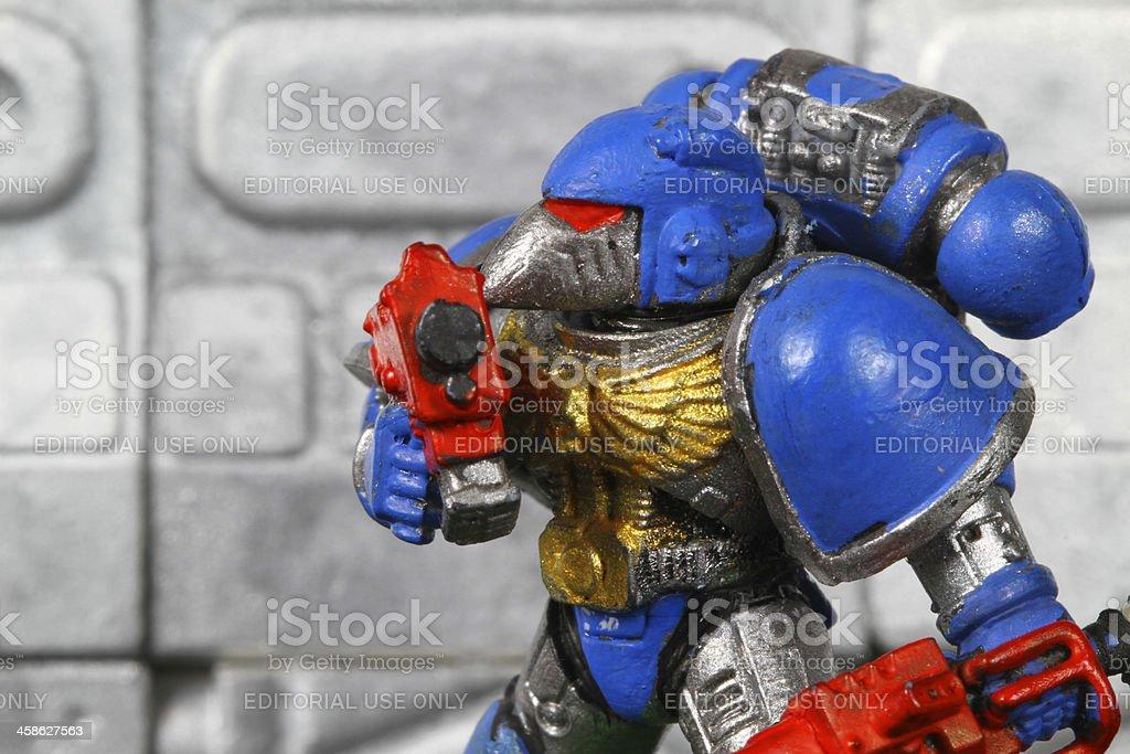Power Armor royalty-free stock photo
