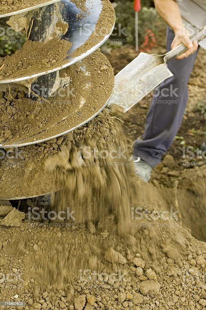 Power Auger royalty-free stock photo