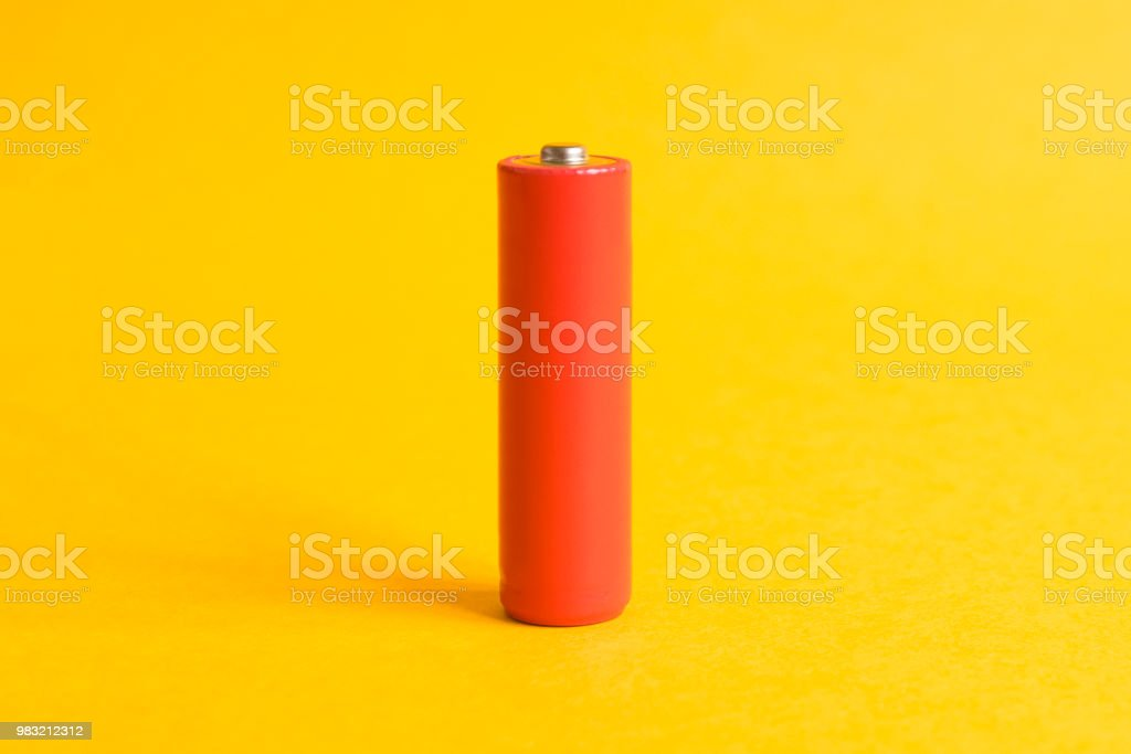 Power battery stock photo