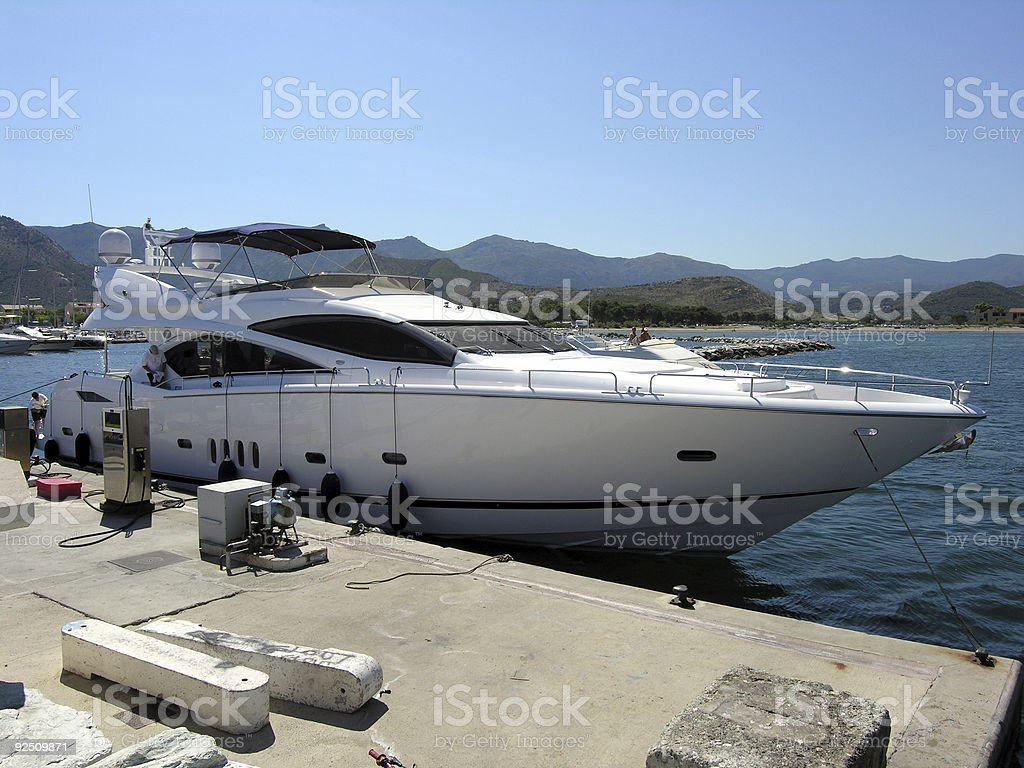 Power Boat royalty-free stock photo