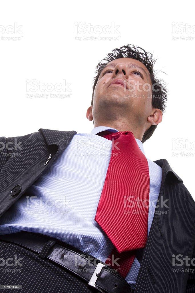 power businessman royalty-free stock photo