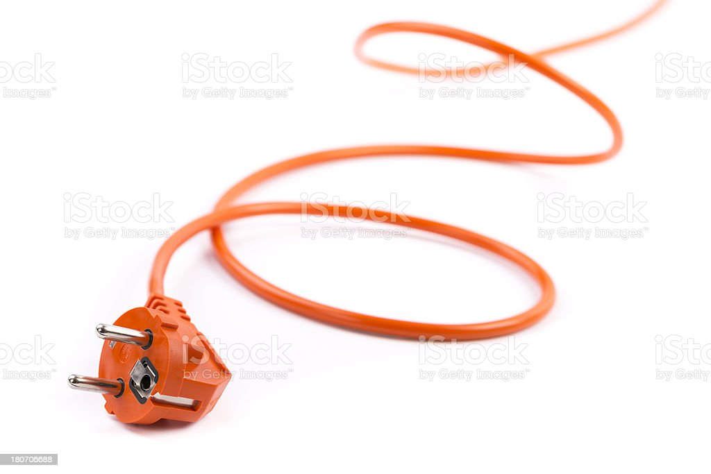 power cable royalty-free stock photo
