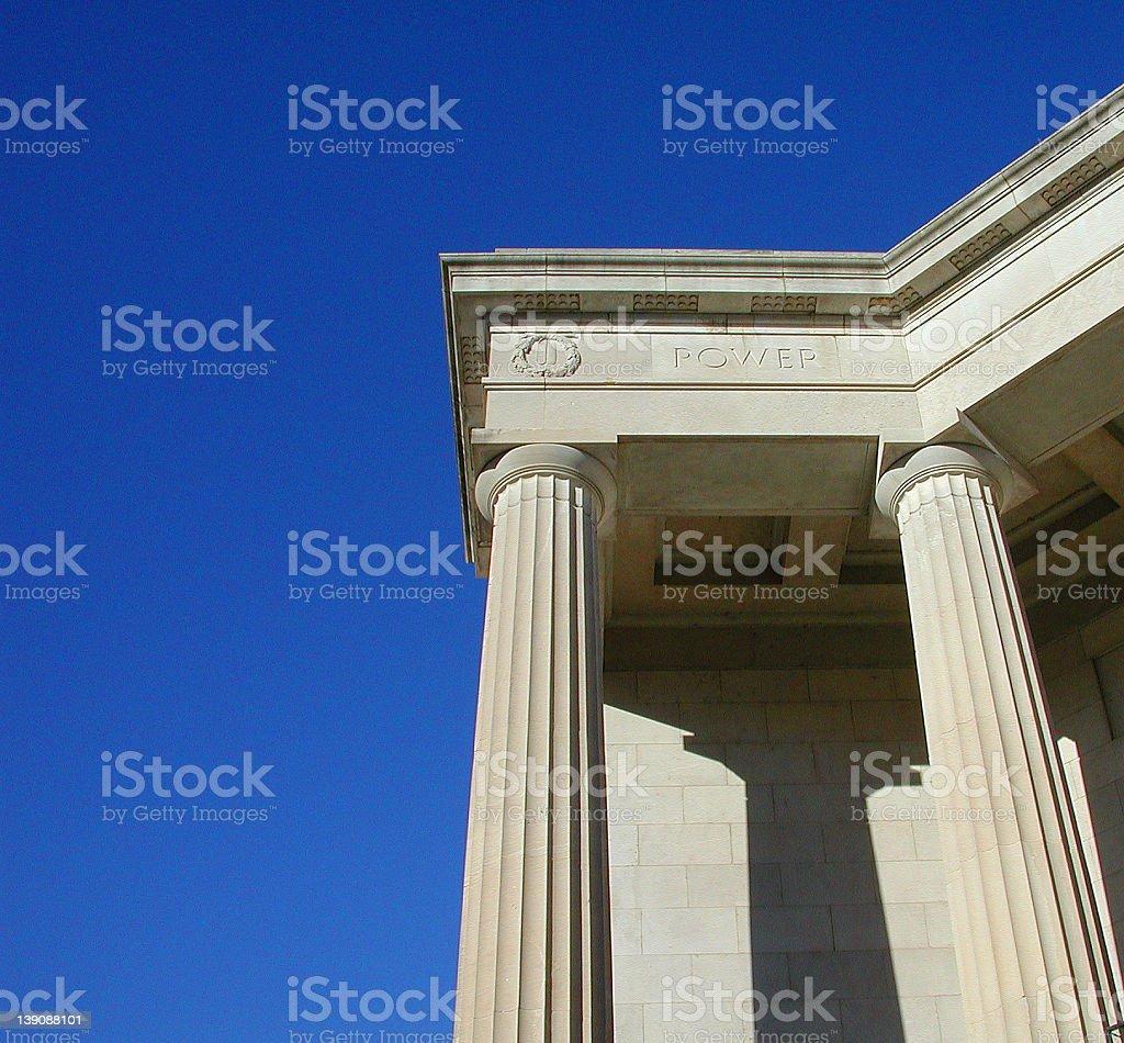 Power Column stock photo