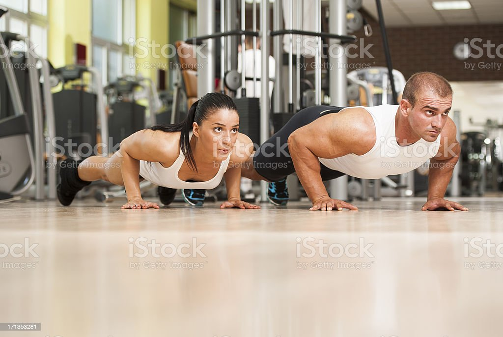 Power Couple royalty-free stock photo